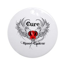 Cure Blood Cancer Ornament (Round)