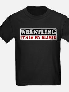 WRESTLINGinmyblood copy T-Shirt