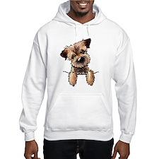 Pocket Border Terrier Hoodie