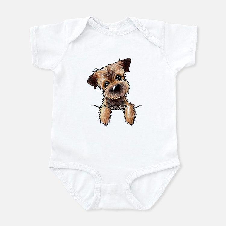 Pocket Border Terrier Onesie