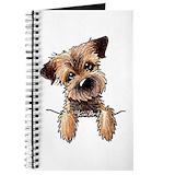 Border terrier Journals & Spiral Notebooks