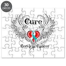 Cure Cervical Cancer Puzzle