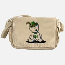 St. Patrick Westie Messenger Bag