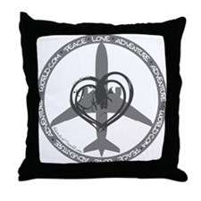 Unique I vacation Throw Pillow
