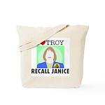 Tote Bag: Recall Janice - I Heart Troy