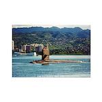 USS HAWKBILL Rectangle Magnet