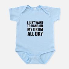 Bang On My Drum Infant Bodysuit