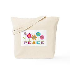 Unique Peace Tote Bag