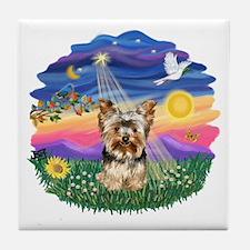 Twilight - Yorkie #17 Tile Coaster