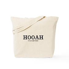 HOOAH (Army Pride) Tote Bag