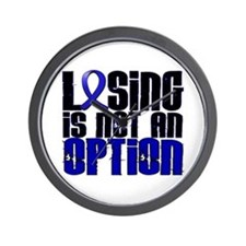 Losing Is Not An Option Anal Cancer Wall Clock