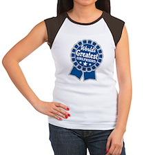 World's Greatest - Girlfriend Women's Cap Sleeve T