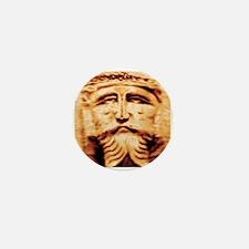 Copper Jesus Mini Button