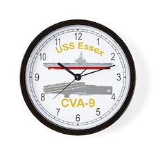 USS Essex CV-9 CVA-9 Wall Clock