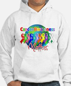 World Cancer Awareness Matter Jumper Hoody