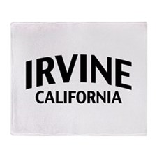 Irvine California Throw Blanket