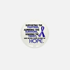 © Supporting Admiring 3.2 Anal Cancer Mini Button