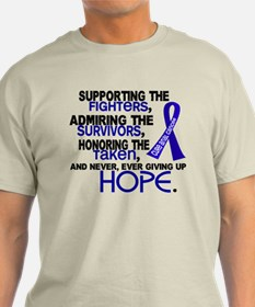 © Supporting Admiring 3.2 Anal Cancer T-Shirt