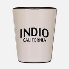 Indio California Shot Glass
