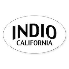 Indio California Decal
