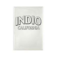 Indio California Rectangle Magnet