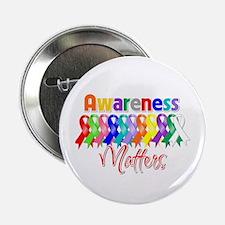 "Ribbon Awareness Matters 2.25"" Button"