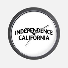 Independence California Wall Clock