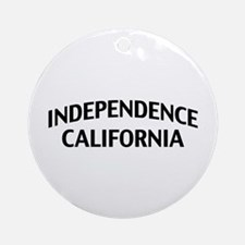 Independence California Ornament (Round)