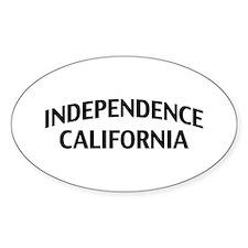 Independence California Decal
