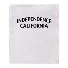 Independence California Throw Blanket