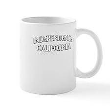Independence California Mug