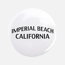"""Imperial Beach California 3.5"""" Button"""