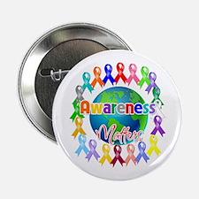 """World Awareness Matters 2.25"""" Button"""