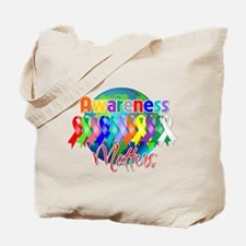 Globe Awareness Matters Tote Bag
