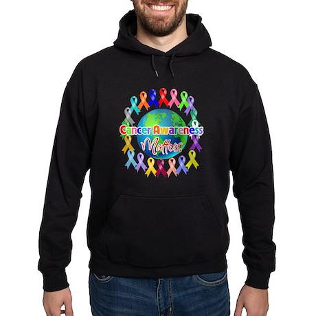 Cancer Awareness World Hoodie (dark)