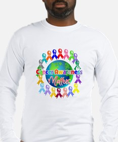 Cancer Awareness World Long Sleeve T-Shirt