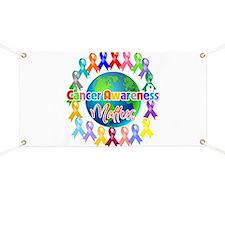 Cancer Awareness World Banner