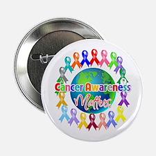 """Cancer Awareness World 2.25"""" Button"""