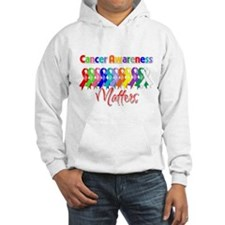 Cancer Ribbon Matters Jumper Hoody