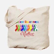 Cancer Ribbon Matters Tote Bag