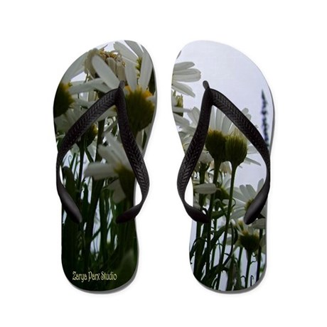 Pushing Daisies Flip Flops