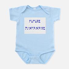 Jewish Future Minyanaire Infant Bodysuit