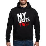 New York Hates You Hoodie (dark)