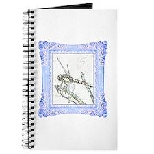Blue Framed Dragonfly Journal