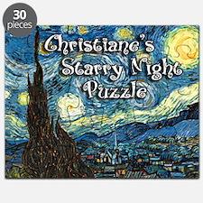 Christiane's Starry Night Puzzle