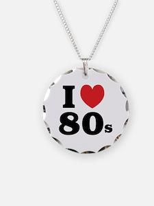 I Heart 80s Necklace