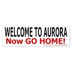Aurora Bumper Bumper Sticker