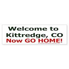 Kitteredge Bumper Bumper Sticker