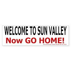 Sun Valley Welcome Bumper Bumper Sticker