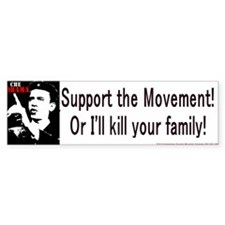 Kill Bumperstickers Bumper Bumper Sticker
